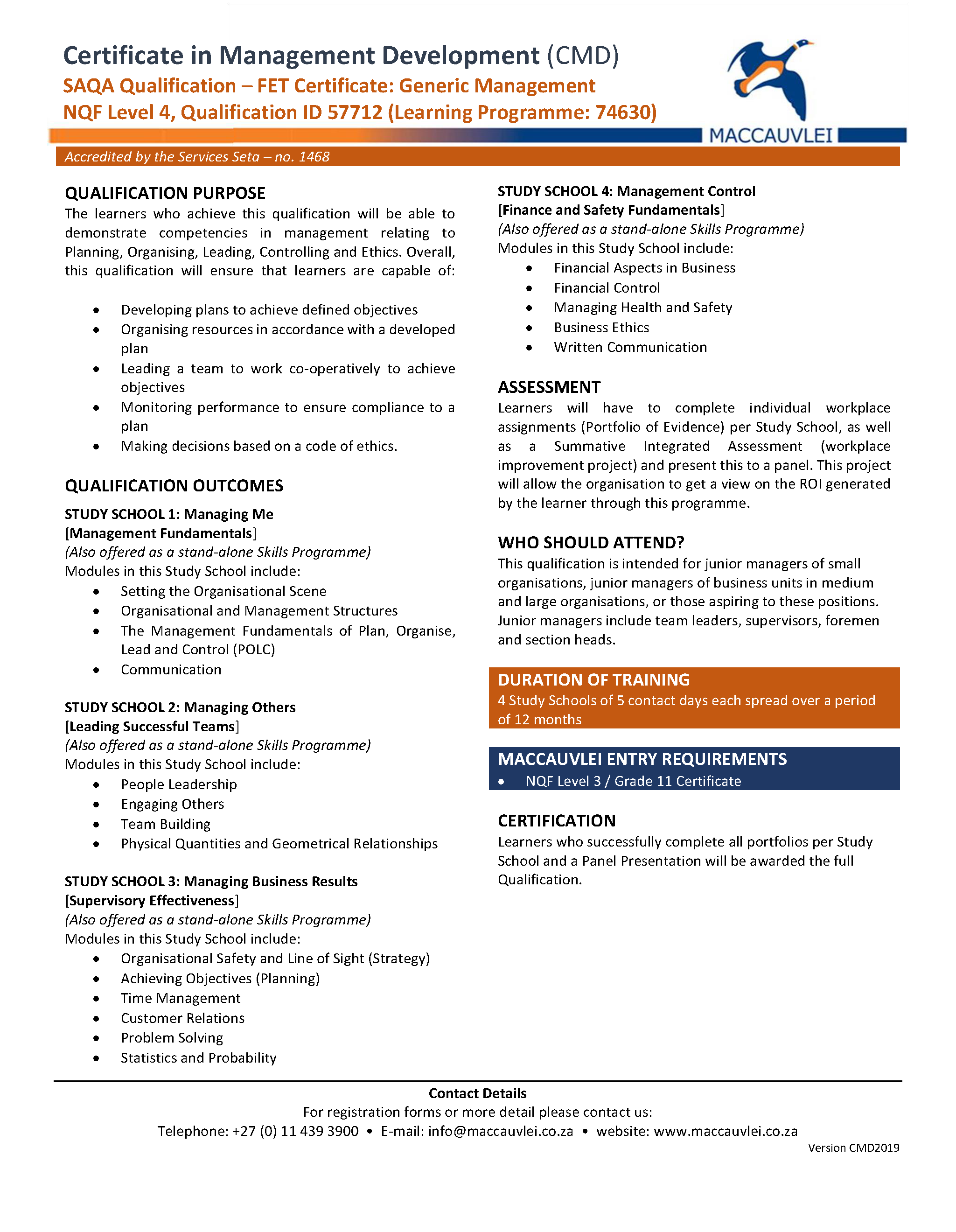 CMD - Certificate in Management Development_Page_1